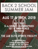 Back 2 School Summer Jam
