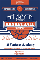 September Basketball Shootout