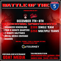 3rd Annual Battle of The 5