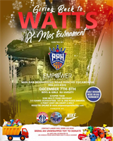 Giving Back To The City of Watts
