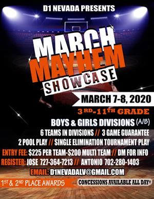 Nevada Youth Basketball Tournaments