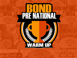 BOND Pre-National Warm-up