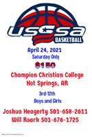Arkansas USSSA Basketball