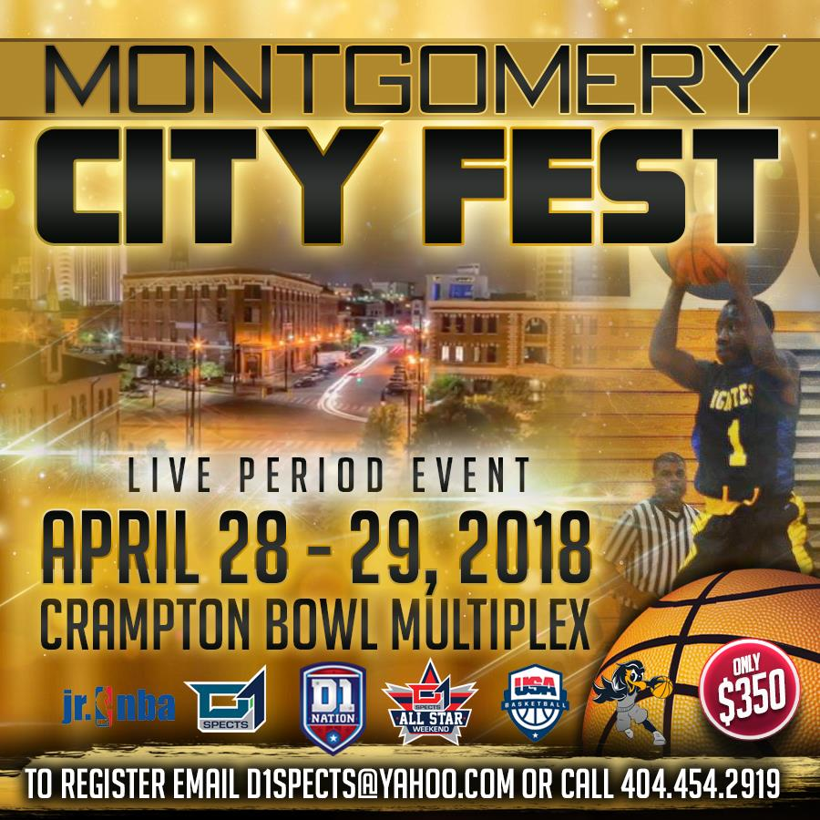 Ballertv presents D1 LIVE MONTGOMERY CITY FEST -NCAA