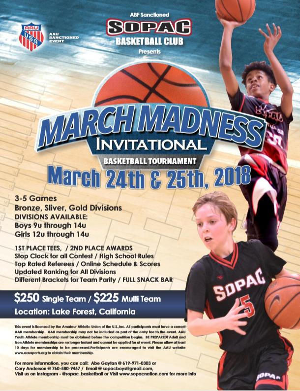 March Madness Invitational
