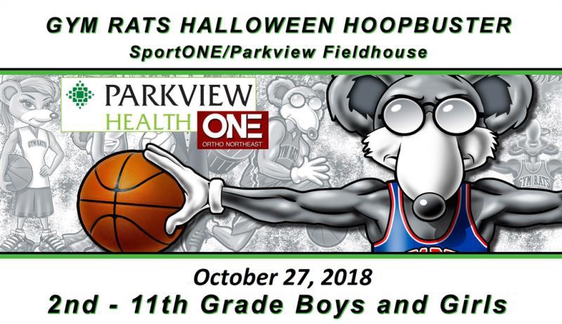 2018 Gym Rats Halloween Hoop Buster