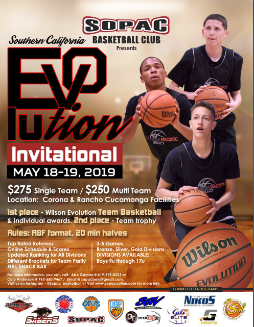 SOUTHERN CALIFORNIA WILSON EVOLUTION INVITATIONAL