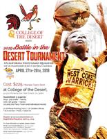 2019 Battle in the Desert - California State Games Qualifier