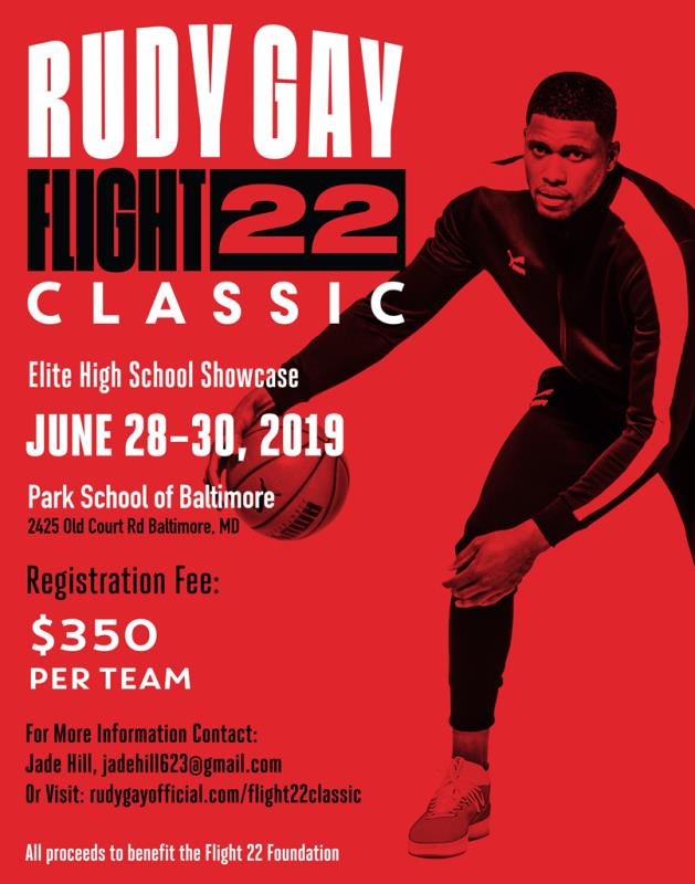 PUMA presents... 2019 Rudy Gay Flight 22 High School Classic
