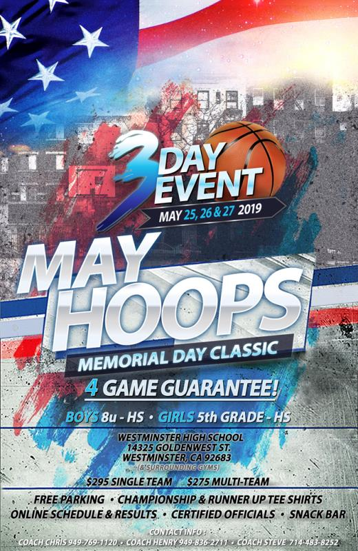 May Hoops Memorial Day Classic