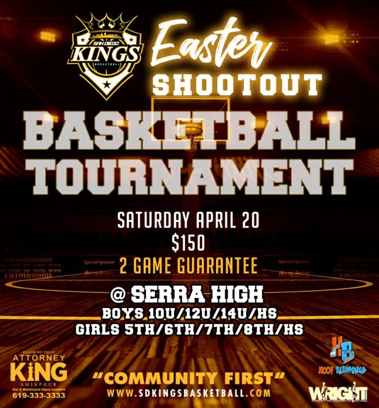 San Diego Kings Easter Shootout
