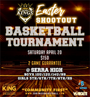 San Diego Kings Easter Shootout