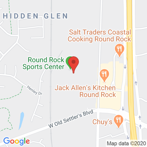 Round Rock Sports Center Map