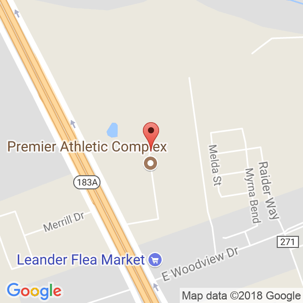 The PAC- Premiere Athlete Complex Map