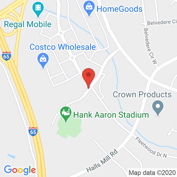 Hank Aaron Stadium Map