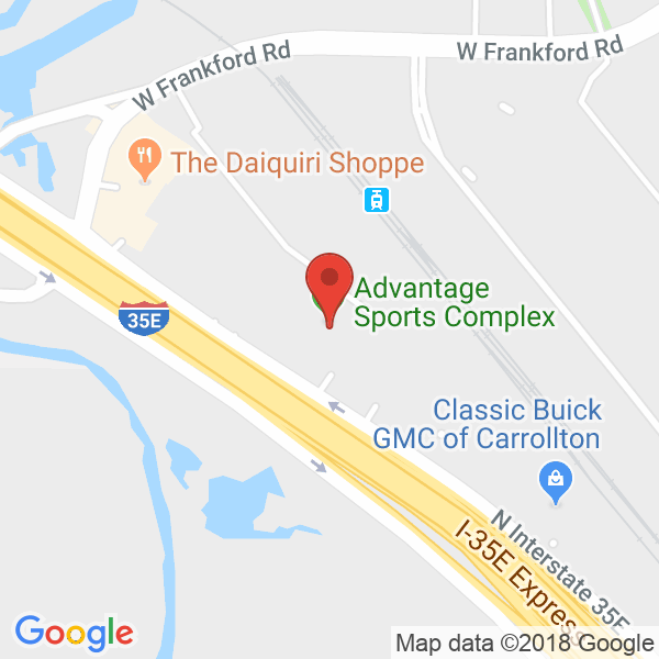 Advantage Sports Complex Map