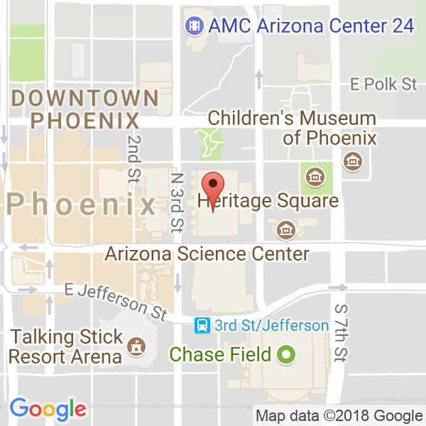 PHOENIX CONVENTION CENTER Map