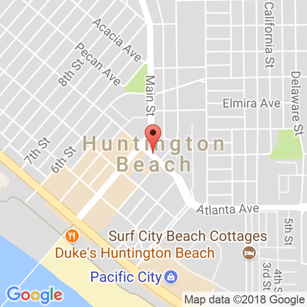 Huntington Beach High School Map
