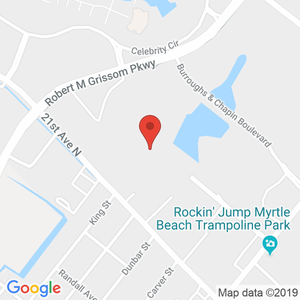 Myrtle Beach Sports Center Map