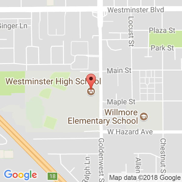 Westminster High School Map