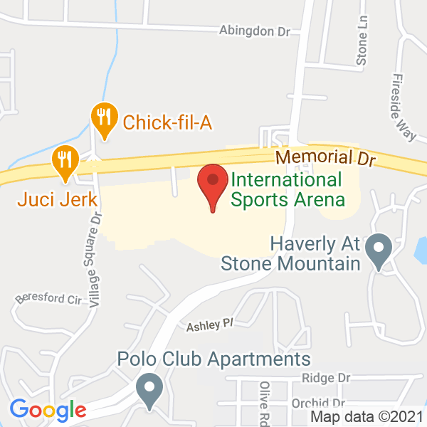 International Sports Arena Map