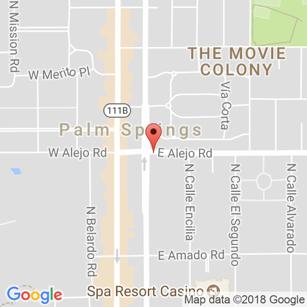Palm Springs Desert Cities Map