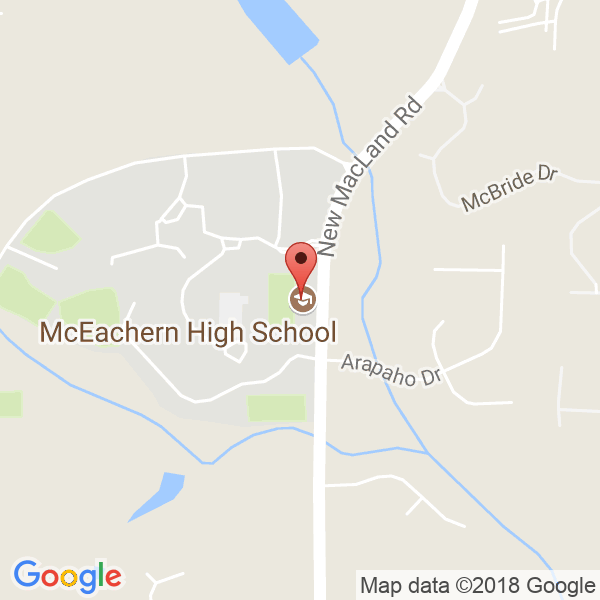McEachern High School Map