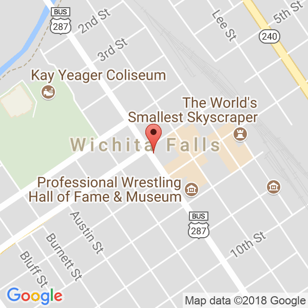 Wichita Falls Hirschi High School Map