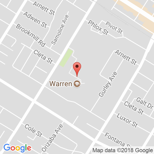 Warren High School Map
