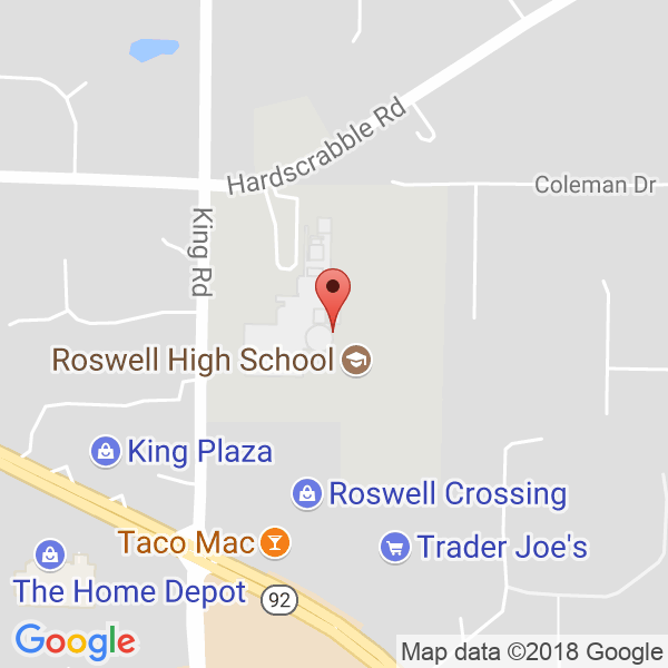 Roswell HS Map