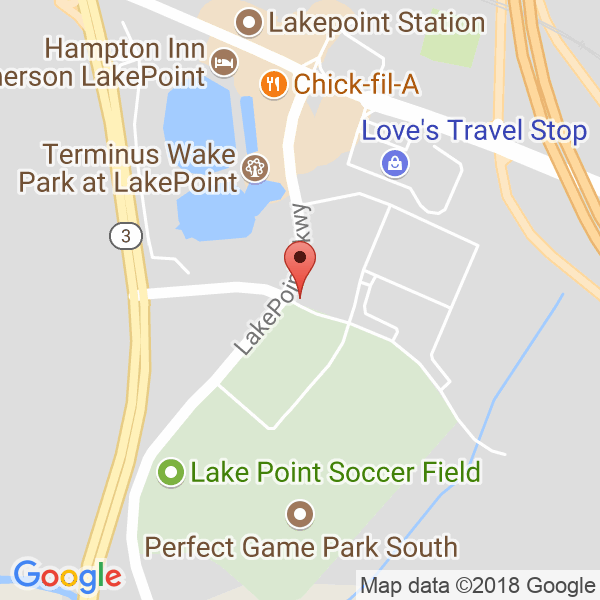 LakePoint Sports Map