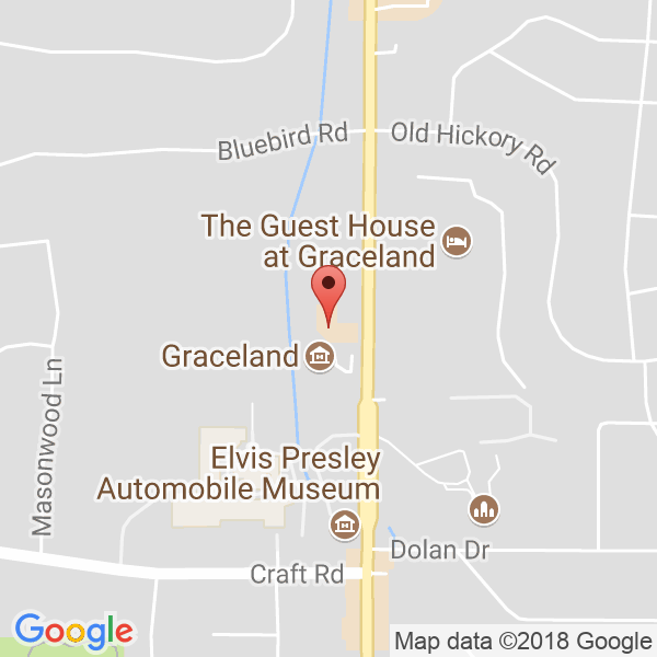 The GuestHouse at Graceland (Sound Stage) Map