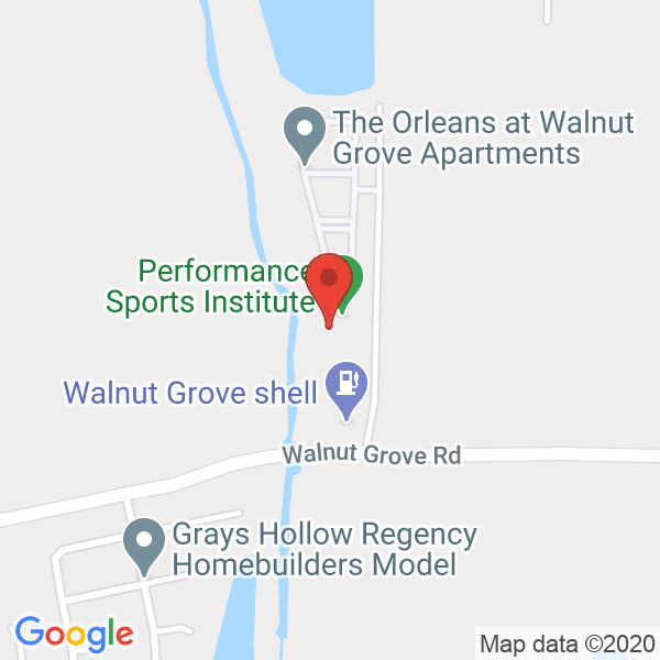 Performance Sports Institute Map