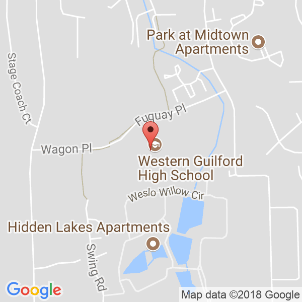 Western Guilford High School Map