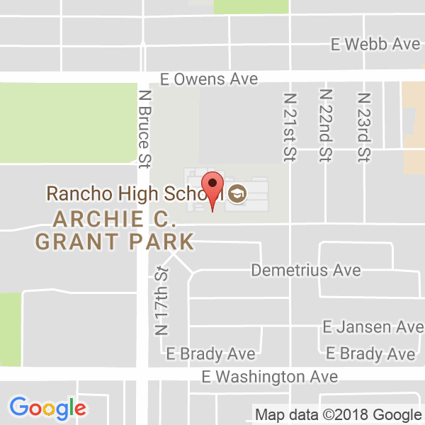 Rancho High School Map