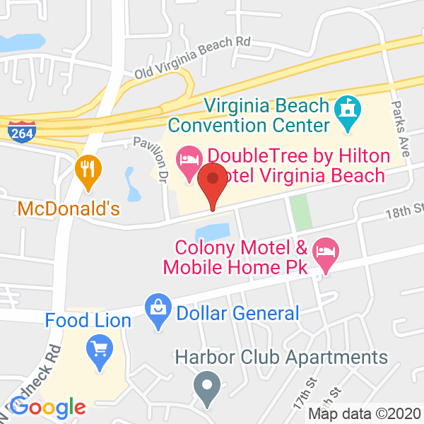 Virginia Beach Sports Center Map