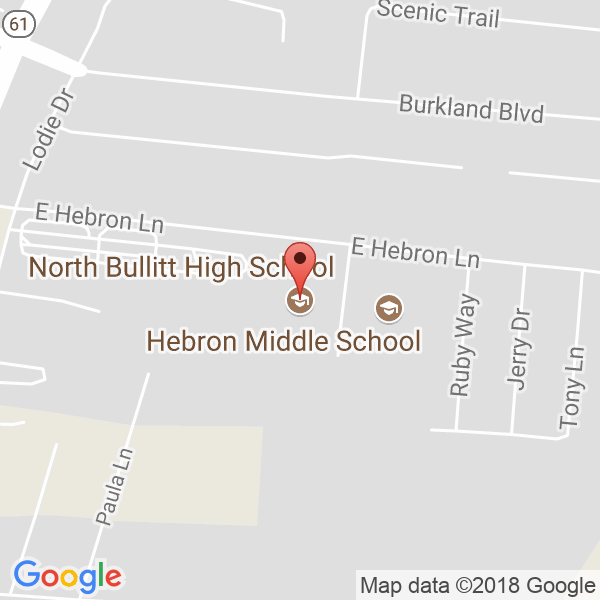 North Bullitt High School Map