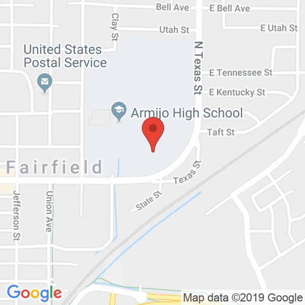 Armijo High School Map