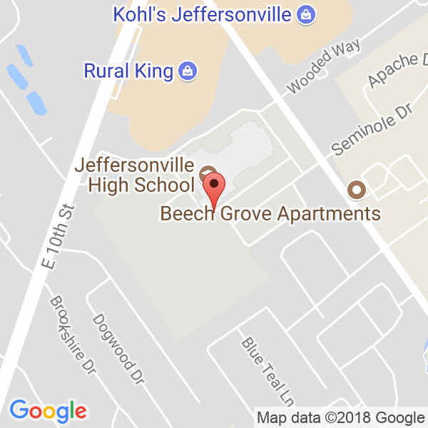 Jeffersonville High School Map
