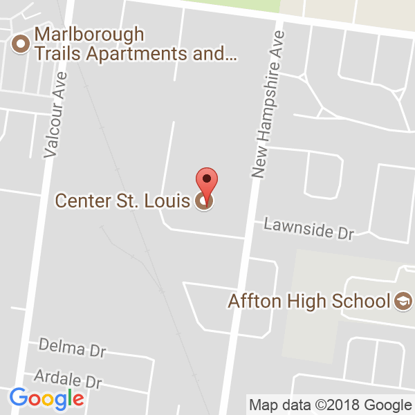 Center St. Louis Map