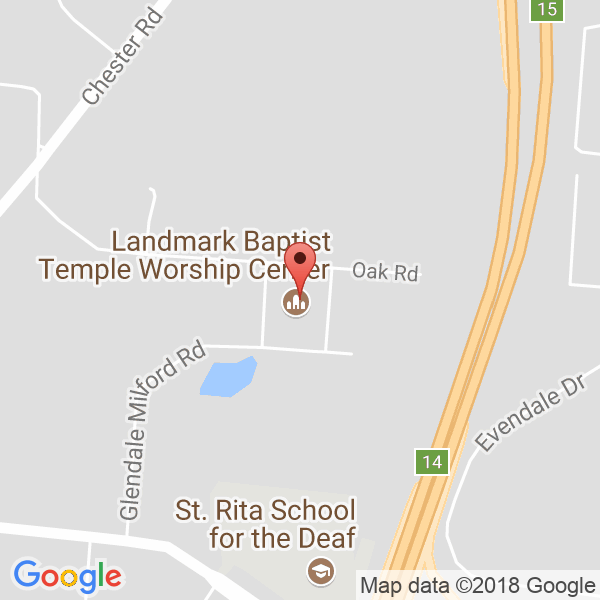Landmark Church ~ Athletic Center Map