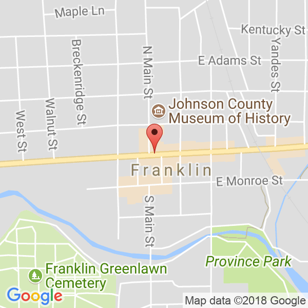 Franklin Community High School Map