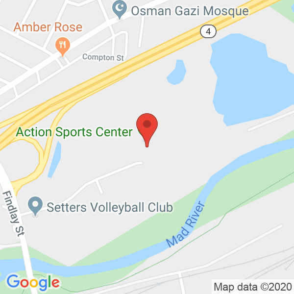 Action Sports Center Map