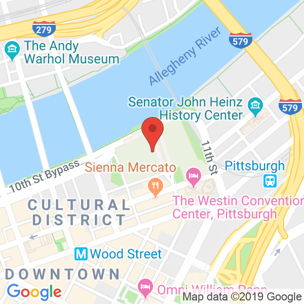 David L. Lawrence Convention Center Map