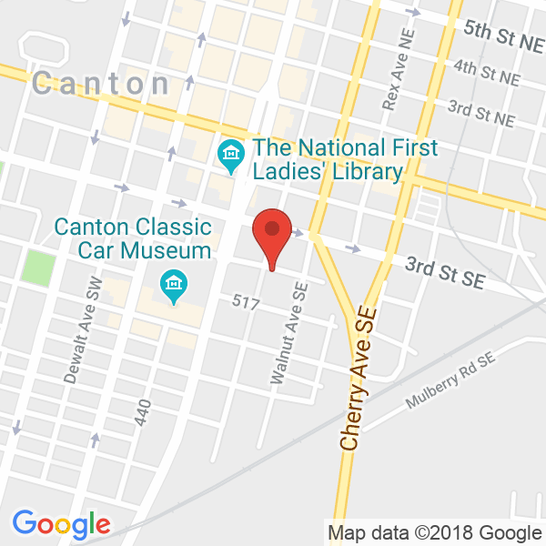 Canton, OH Map