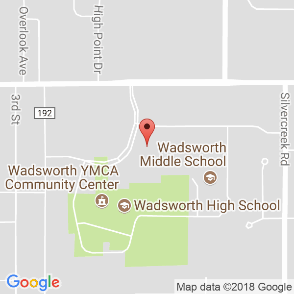 WADSWORTH HIGH SCHOOL Map
