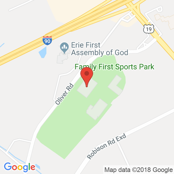 Erie Bank  Sports Park  Map