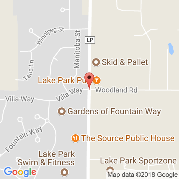 Lake Park Sports Complex Map