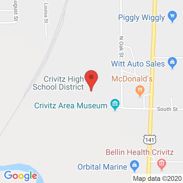 Crivitz High School Map